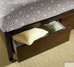 Hidden Storage Drawers At Foot Of Bed Stashvault