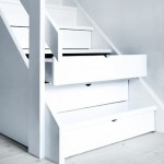 Storage Drawers Concealed Under Steps