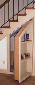 Hidden Bookcase Passageway