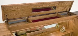 Hidden Storage Compartment in Bedroom Furniture