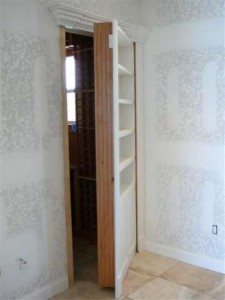 Hidden Hideaway Behind Secret Bookcase Door