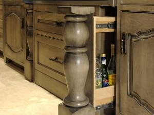 Concealed Kitchen Cabinet Drawer