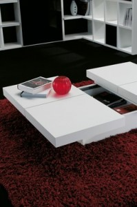 Hidden Storage Compartment Coffee Table