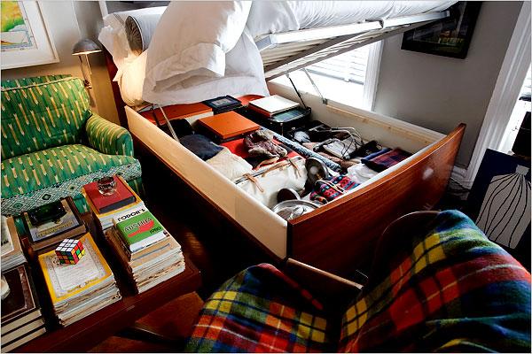 Secret storage compartment under lift up bed stashvault - Lift up under bed storage ...