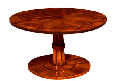 Tilt top Table with Secret partment