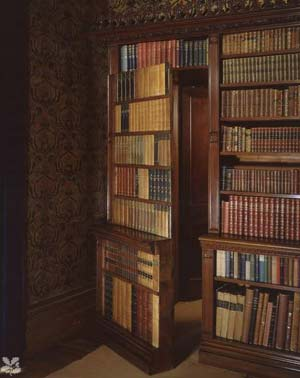 Merveilleux Hidden Bookshelf Door In Oxford Hall