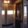 Hidden Doors with Shelves Conceal Secret Wine Cellar