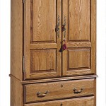Bedroom Furniture Armoire with Secret Gun Compartment