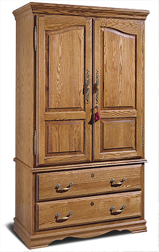 Flat screen tv armoire gun cabinet stashvault for Bedroom furniture gun safe