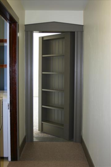 Hidden Doors Bookcase Doors : Secret bookcase door stashvault