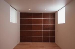Secret storage in door are hidden when closed