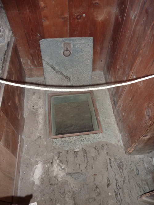 Trap Door to Secret Room in Castle