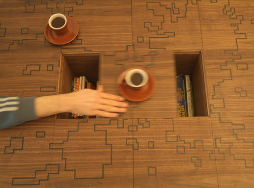 Coffee Tables with Hidden Compartments