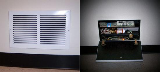 Air Vent Hidden Storage Safe Stashvault