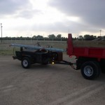 Contraband stashed in contractor tar trailer