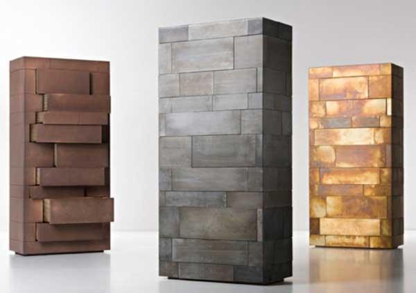 Hidden Storage Monolith Structure