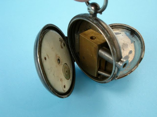 Antique Pocket Watch Conceals Secret Pistol