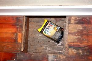 Hidden Church Compartment Under Floor