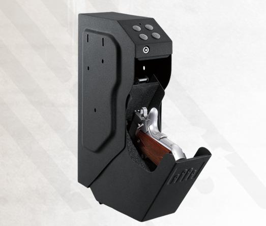 Quick access pistol safe
