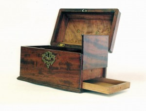 Tea Caddy with Hidden Drawer