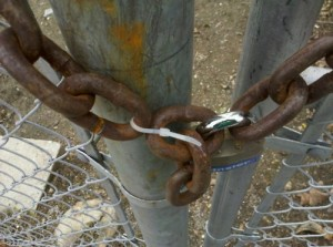 Broken Chain Lock