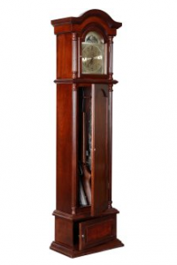 Hidden Rifle Compartment in Grandfather Clock
