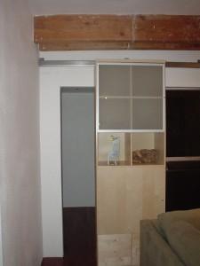 Bookcase as Secret Sliding Door