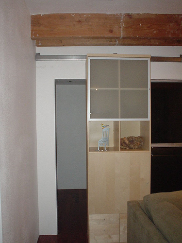Bookcase as Secret Sliding Door