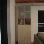 Hidden Bookcase Door on Rails