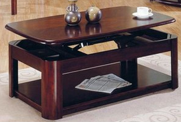 LiftTop Hidden Storage Coffee Table StashVault