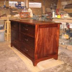 Custom Dresser Furniture with Hidden Compartment in Back