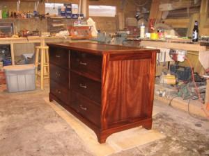 Custom Dresser Furniture with Hidden Compartment in Back