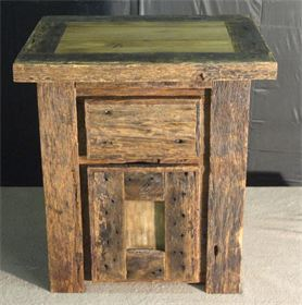 Bedside Table With Hidden Compartment