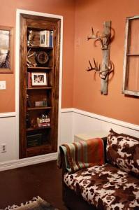 Hidden Closet Behind Secret Bookcase Door