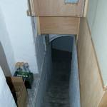 Bookcase Door Conceals Underground Tunnel