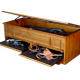 Long Gun Storage in Hidden Compartment Furniture