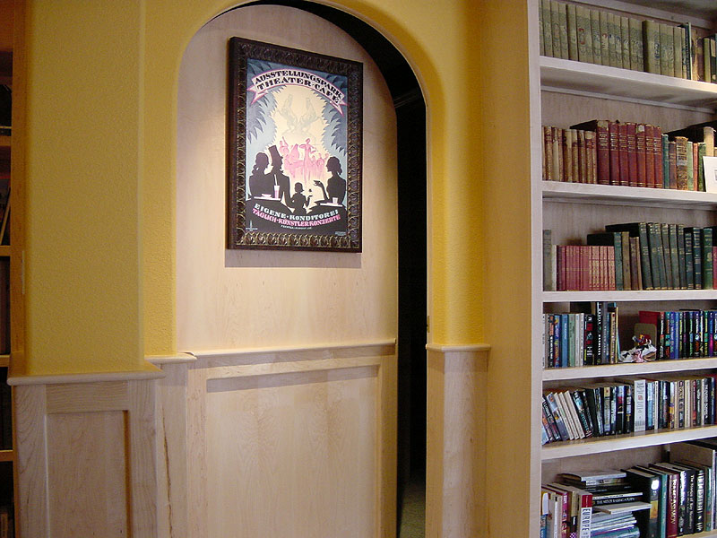 Secret Home Theater Door