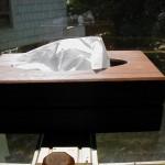 Hidden Compartment in Tissue Box Cover