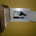 Hidden Wall Safe Behind Picture Frame