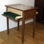 End Table with Concealed Weapon Compartments