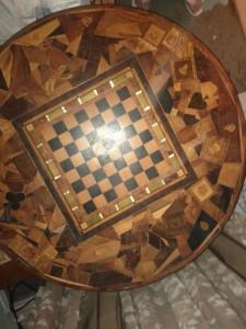 Wooden Secret Compartment Table