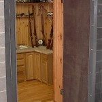 Gun Room with Secure Vault Door