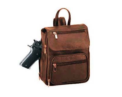Concealed Pistol Packing Backpack
