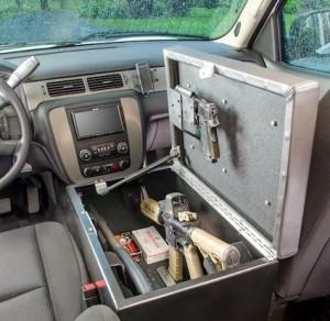 Auto Console Bunker Firearm Storage