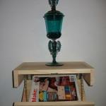 Homemade Bookshelf with Hidden Stash Compartment
