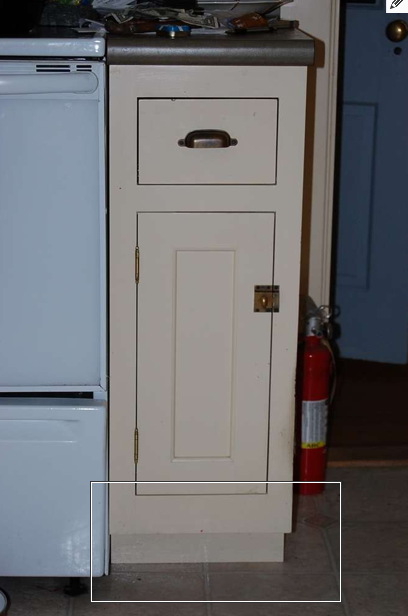 How-to Make a Secret Toekick Cabinet Compartment