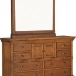 Dresser with secret Mirror Compartment