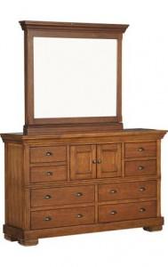 Dresser with secret Mirror Compartment