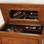 Hidden Jewelry Compartment in Dresser