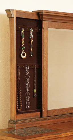 Slide out Secret Jewelry Compartment